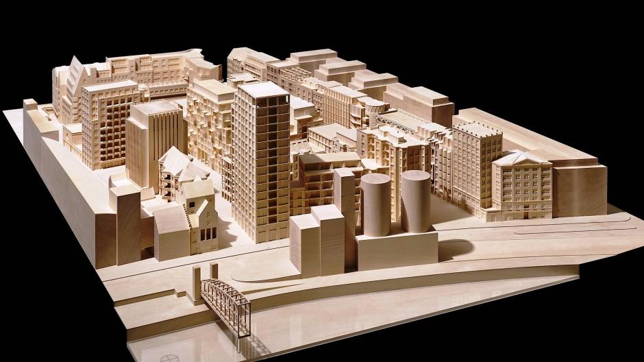 Dicht und sozial gemischt: So hätte die Werkbundstadt aussehen können.