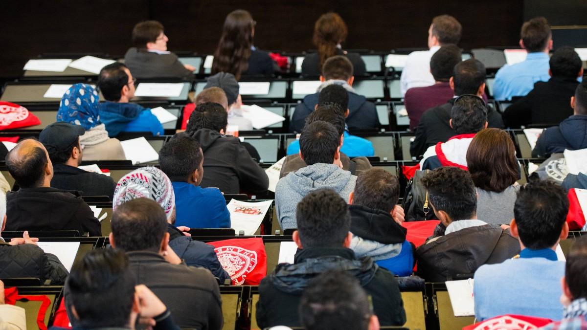 Viele Flüchtlinge nicht studierfähig
