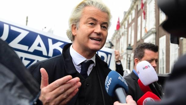 Wilders dreht wieder auf