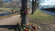 Erinnerung: Hier wurde Maria L. in Freiburg im Dezember ermordet.