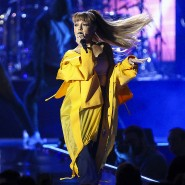 Die Sängerin Ariana Grande, hier bei einem Konzert im September 2016 in Las Vegas