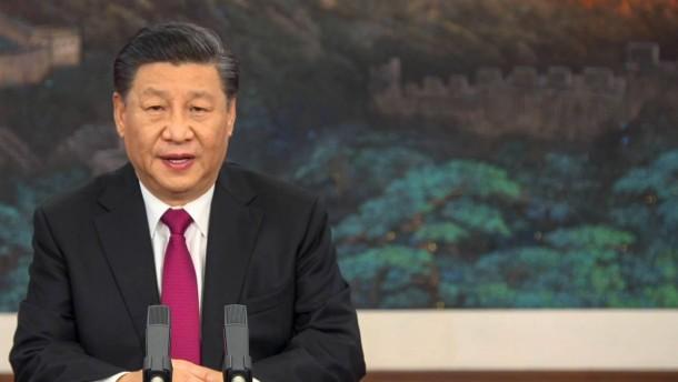 """Chinas Präsident Xi warnt vor """"neuem Kalten Krieg"""""""