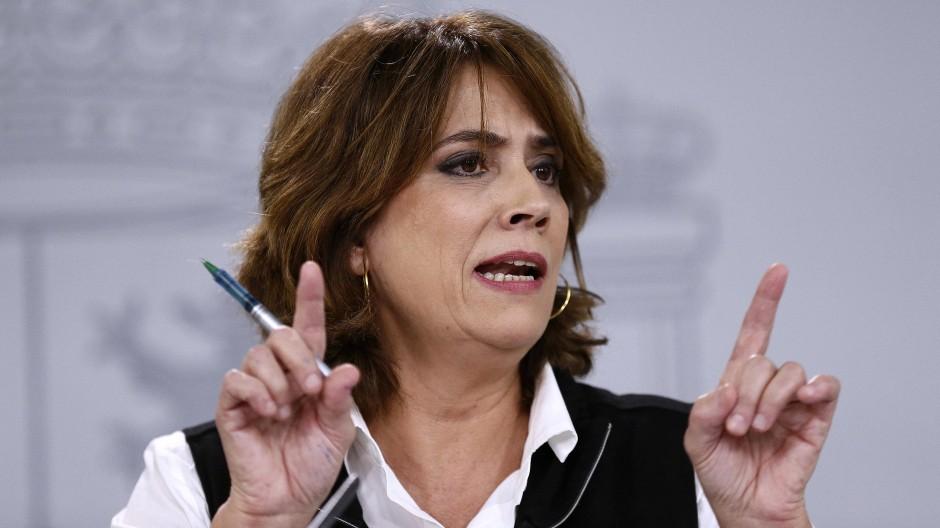 Die ausgeschiedene Justizministerin Dolores Delgado soll Generalstaatsanwältin in Spanien werden.