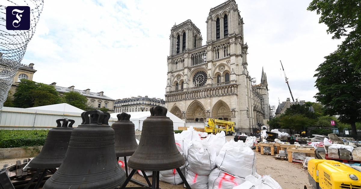 Frühere Dombaumeisterin aus Köln begutachtet die Notre-Dame