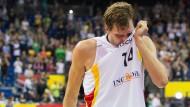 Dirk Nowitzki wird das Nationaltrikot wohl nicht mehr bei einem großen Turnier überstreifen.