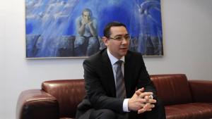 Ponta will von Zusagen nichts wissen