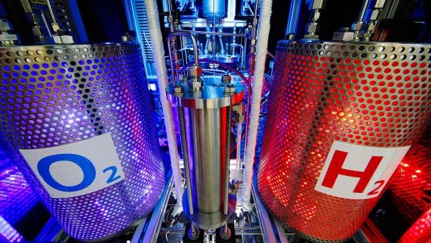 Verpuffung im Wasserstoffsektor