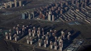 Chinas völlig verrückter Häuserboom