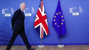 Barnier sieht noch Chancen für Brexit-Abkommen