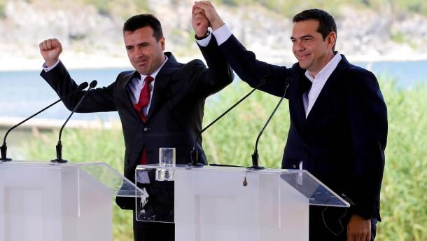 Das Dilemma der griechischen Nationalisten