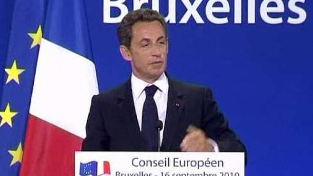 In Berlin und Paris Verwunderung über Sarkozy