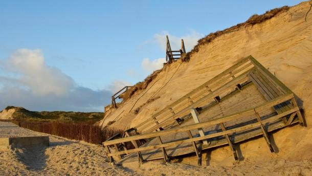 Eine Million Kubikmeter Sand retten