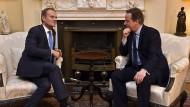 Britische Regierung meldet Durchbruch