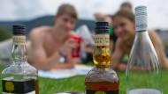 Tendenz sinkend: Immer mehr junge Menschen verzichten auf Alkohol.