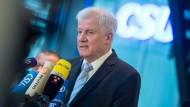 Zeigte Stärke auf der neuen Münchener Bühne: CSU-Chef Horst Seehofer