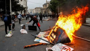 Drei Tote bei Protesten in Chile