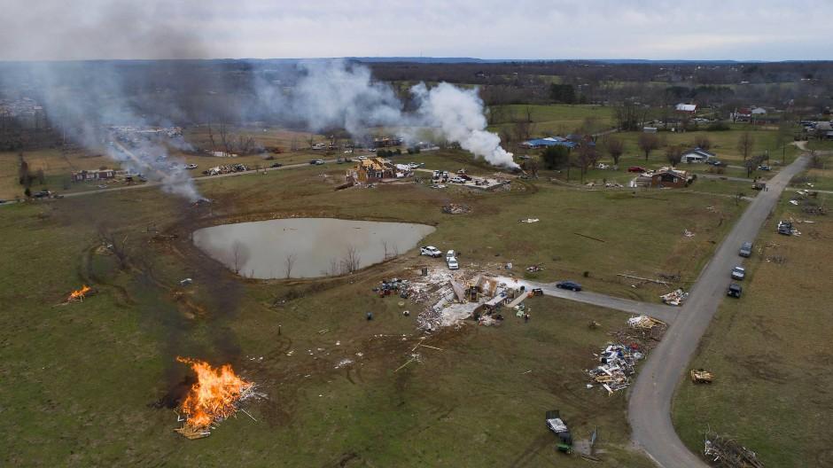 Mehrere Tornados wüten durch Amerika