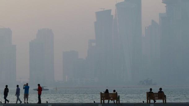 Forderungen an Qatar abgeschwächt