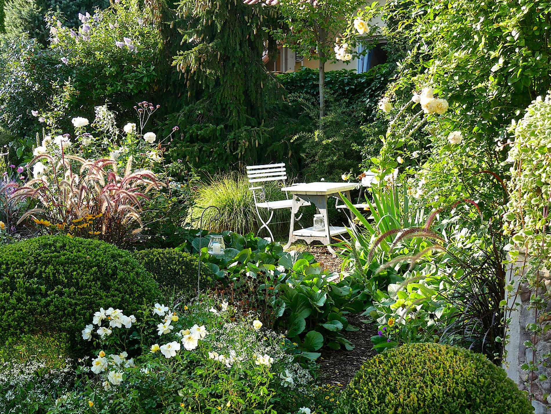 Wie eine Erfurter Landschaftsarchitektin ihren Garten plant