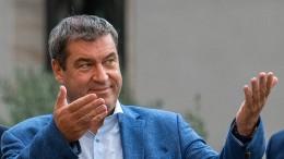 """Söder: """"Revolution für Deutschland"""" durch Klimaschutz"""