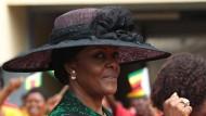Sorgt sich doch nur um ihre Kinder: Herrschaftsgattin Grace Mugabe