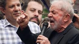 Ex-Präsident Lula aus dem Gefängnis freigelassen