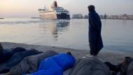 Flüchtlinge wollten von Chios zurück in die Türkei schwimmen