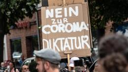 Corona-Proteste in Berlin