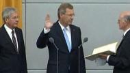Wullf als zehnter Bundespräsident vereidigt