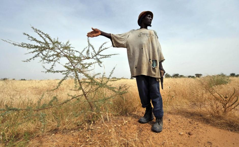 Zu trocken für eine tonal abwechslungsreiche Sprache: Ein Bewohner der Sahara im Norden Burkina Fasos.