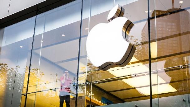 Apples Börsenwert steigt erstmals über 800 Milliarden Dollar