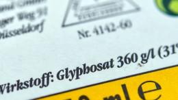 Hessen verzichtet teilweise auf Glyphosat