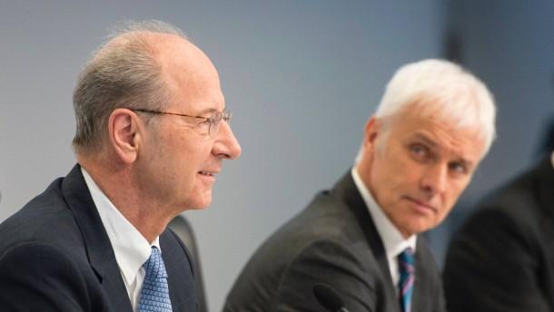 VW-Chefkontrolleur Pötsch zahlt 1,5 Millionen Euro