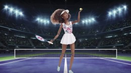 Naomi Osaka bekommt ein Barbie-Ebenbild