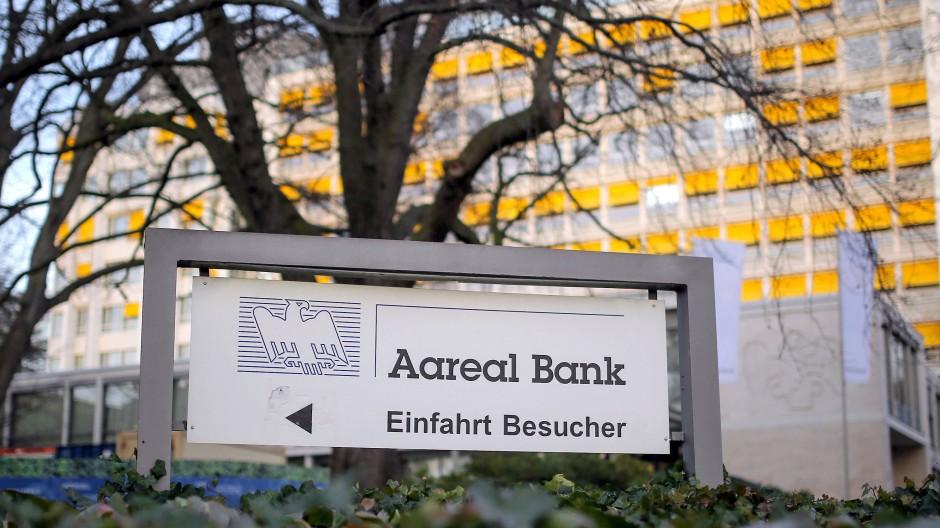 Im Visier von Aktivisten: Der Immobilienfinanzierer Aareal Bank aus Wiesbaden.