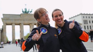 Wer wird die erste Deutsche im All?