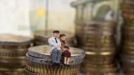 Pensionszusagen belasten die Bilanzen deutscher Unternehmen