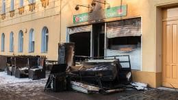 Brandanschläge auf zwei Moscheen