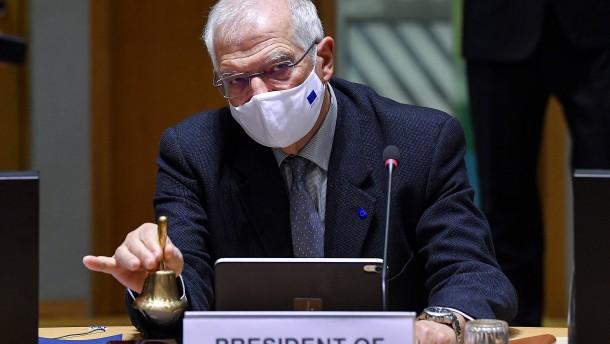 EU will im Februar über Sanktionen entscheiden