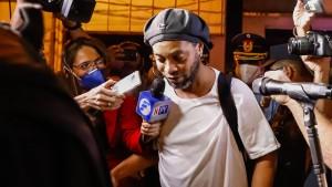 Ronaldinho tauscht U-Haft gegen Hotel-Arrest