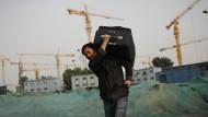 Millionen Chinesen führen ein Leben ohne dauerhaft festen Wohnsitz.