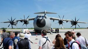 Airbus setzt Produktion und Testflüge fort