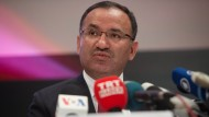 Auftrittsverbot: Der türkische Justizminister Bozdag darf in Deutschland keinen Wahlkampf betreiben.