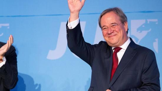 Schaulaufen des Kandidaten-Trios der CDU