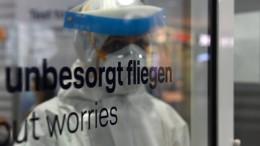 Lufthansa probt Corona-Schnelltests