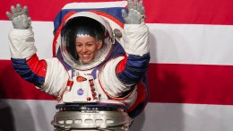 Neuer Raumanzug für besseren Gang auf dem Mond