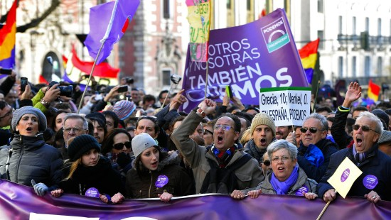 Spaniens Linke fordert Ende der Sparpolitik
