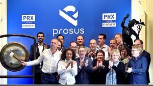 Aktienrückkauf von Prosus verpufft