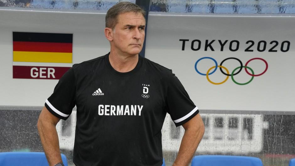 Vermisste das olympische Flair in Japan: Deutschlands Trainer Stefan Kuntz