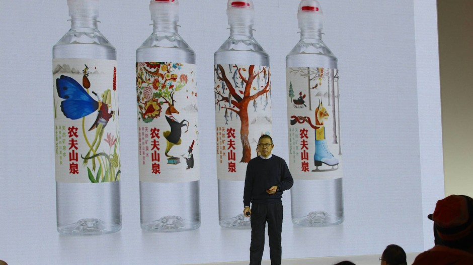 Wurde über Nacht um 41 Milliarden Dollar reicher: Zhong Shanshan Vorsitzender des Wasserunternehmens Nongfu Spring.